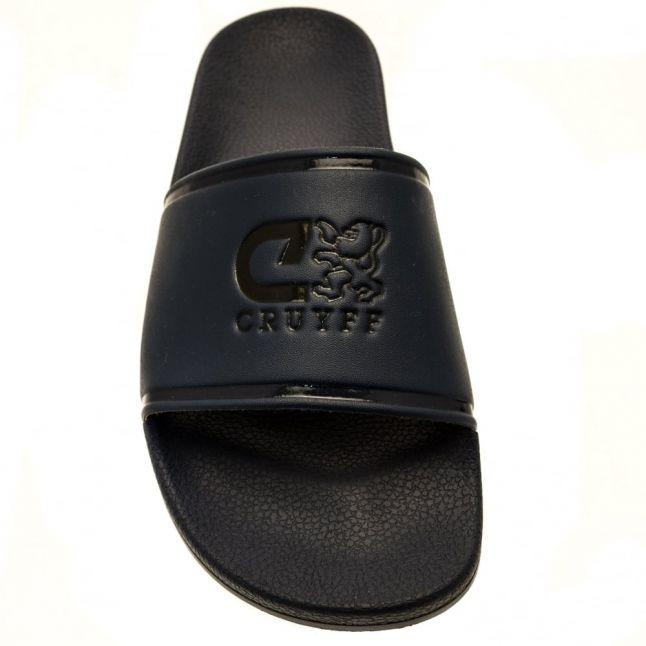 Mens Bright Navy Agua Copa Slide Sandals
