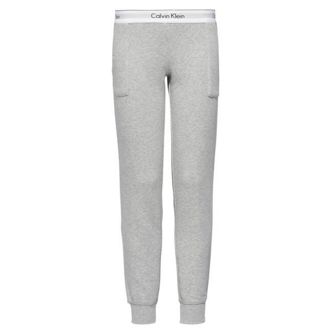 Womens Grey Heather Jog Pants