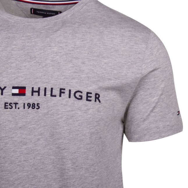 Mens Cloud Heather Core Branded S/s T Shirt