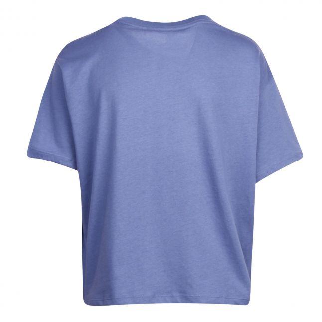Womens Colony Blue Graphic Varsity S/s T Shirt