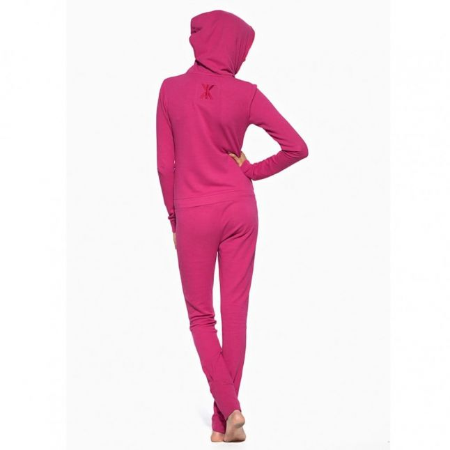 Smootch Jumpsuit in Fall Pink