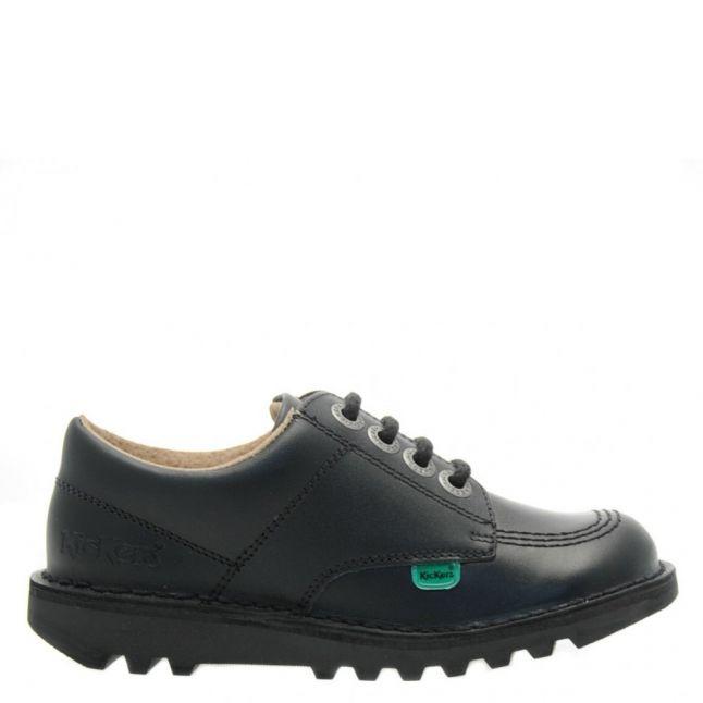 Junior Black Kick Lo Shoes (12.5-2.5)