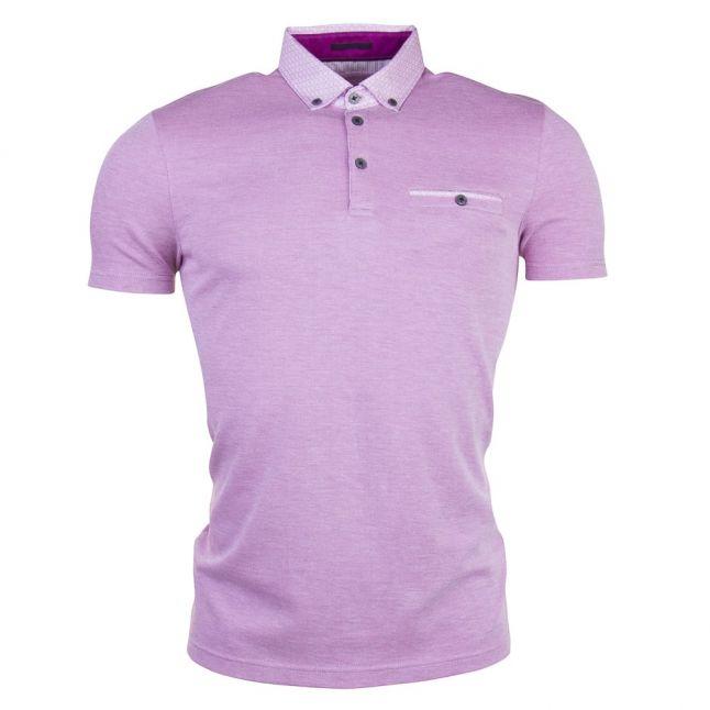 Mens Purple Super S/s Polo Shirt