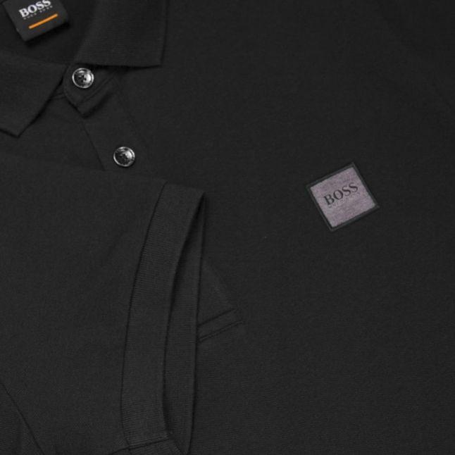Casual Mens Black Passenger S/s Polo Shirt