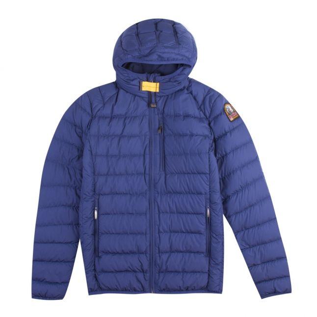 Boys Navy Peony Last Minute Light Hooded Jacket