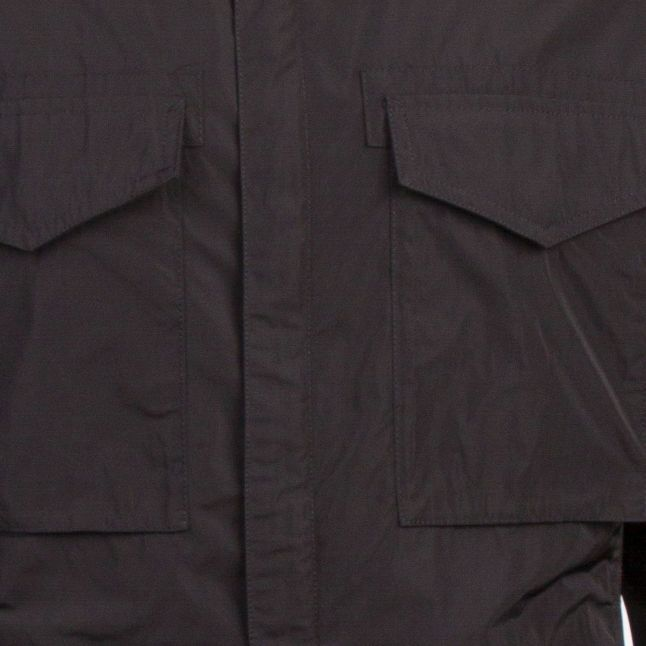Mens Black Command Overshirt