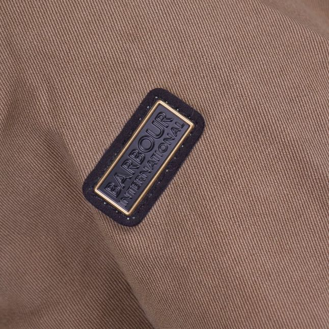 Womens Khaki Tachometer Casual Jacket