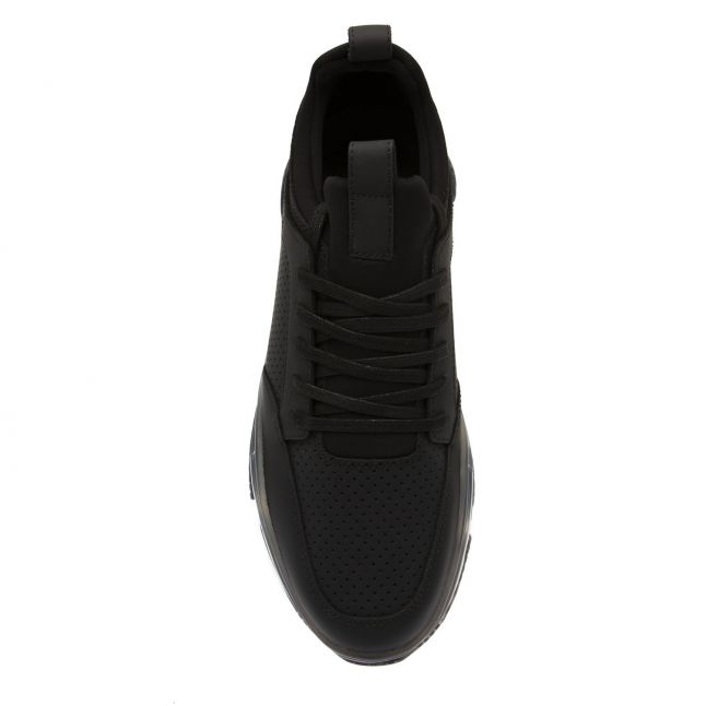 Mallet Mens Black Jewel Dalston 2.0 Clear Trainers