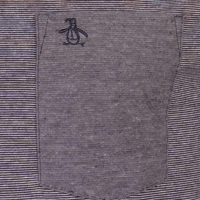 Dark Sapphire Feeder Pocket S/s Tee Shirt