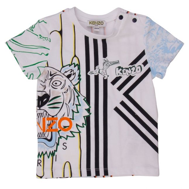 Baby White Boubou S/s Tee Shirt