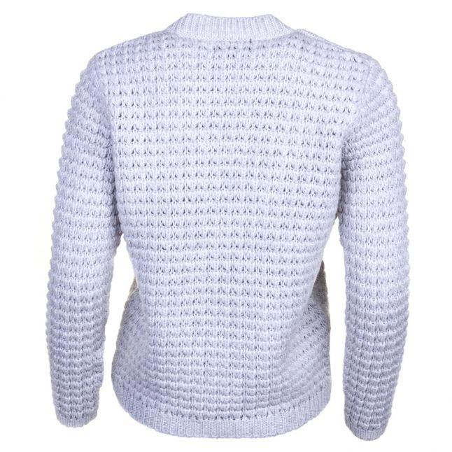 Womens Silver Marl Enduro Knitted Jumper