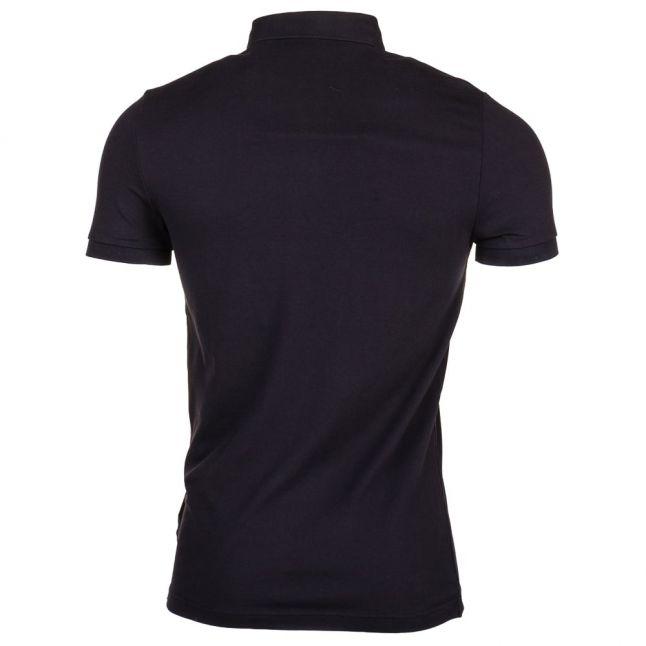 Orange Mens Black Pavlik S/s Polo Shirt