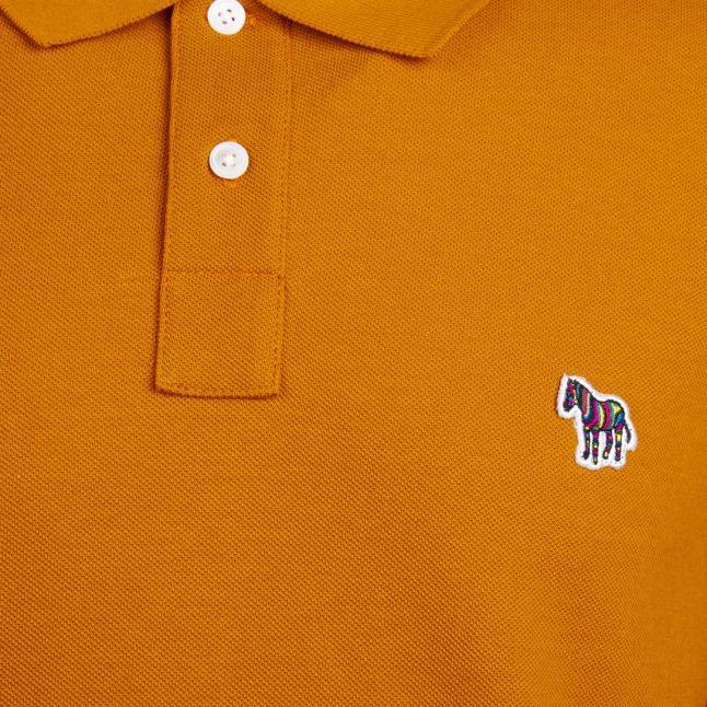 Mens Golden Classic Zebra Regular Fit S/s Polo Shirt