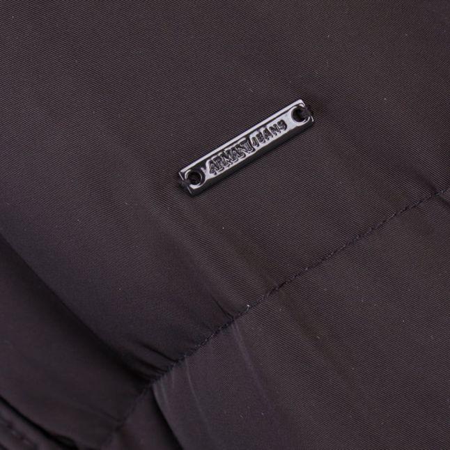 Womens Black Down Puffer Jacket