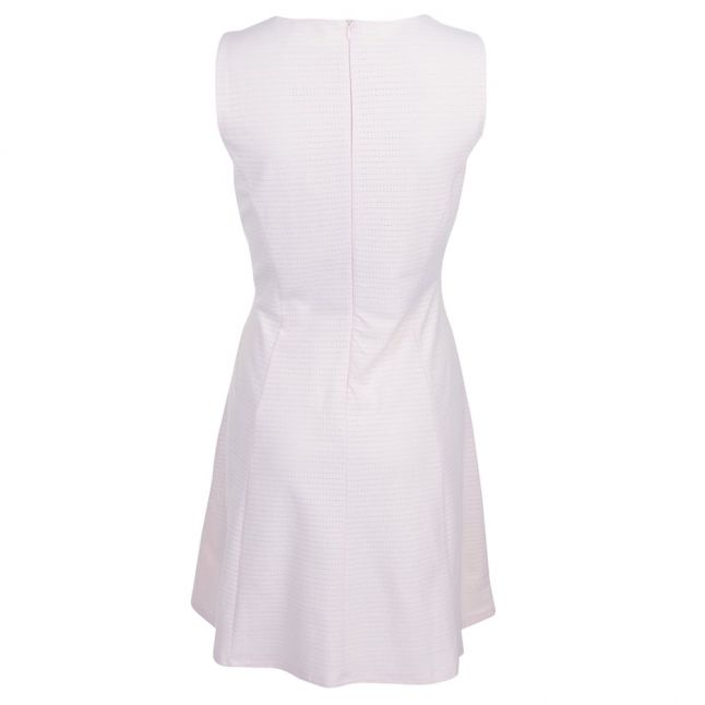 Boss Orange Womens Light Pastel Pink Dacoci Jersey Dress