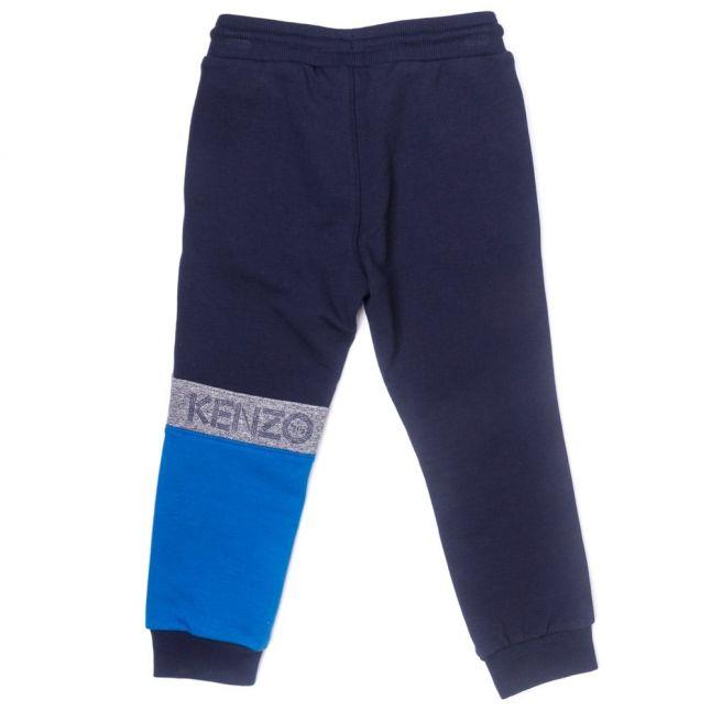 Boys Navy Auguste Smiley Jog Pants