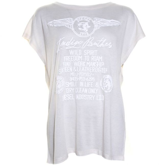 Womens Cream T-Serra-C S/s Tee Shirt