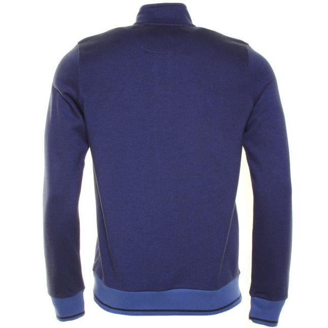 Mens Sea Risby Half Button Sweat Top