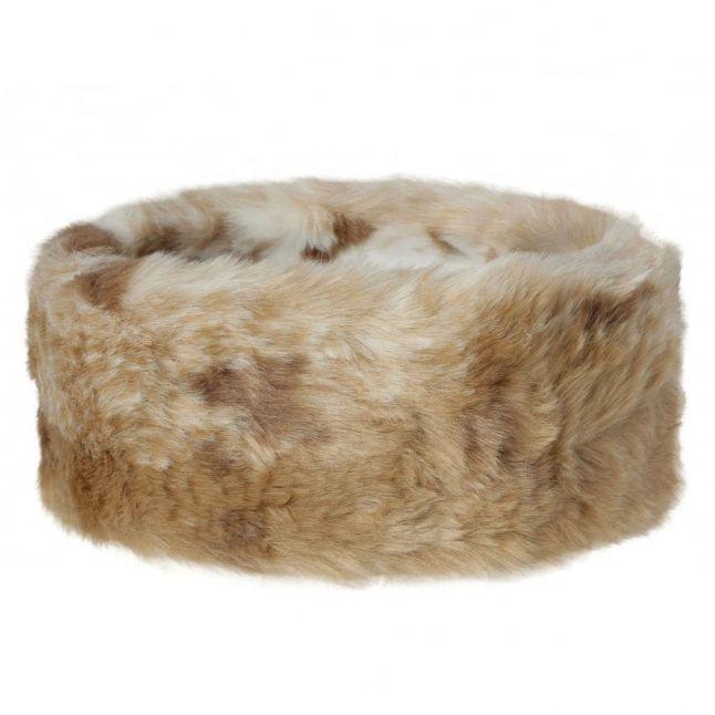 Womens Chinchilla Faux Fur Headband