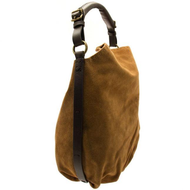 Womens Chestnut Heritage Hobo Bag
