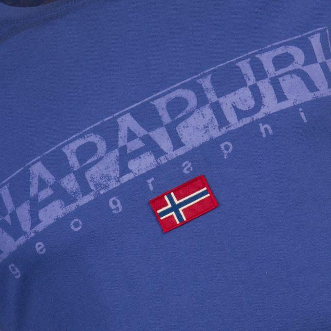 Mens Palestine Blue Sapriol S/s Tee Shirt