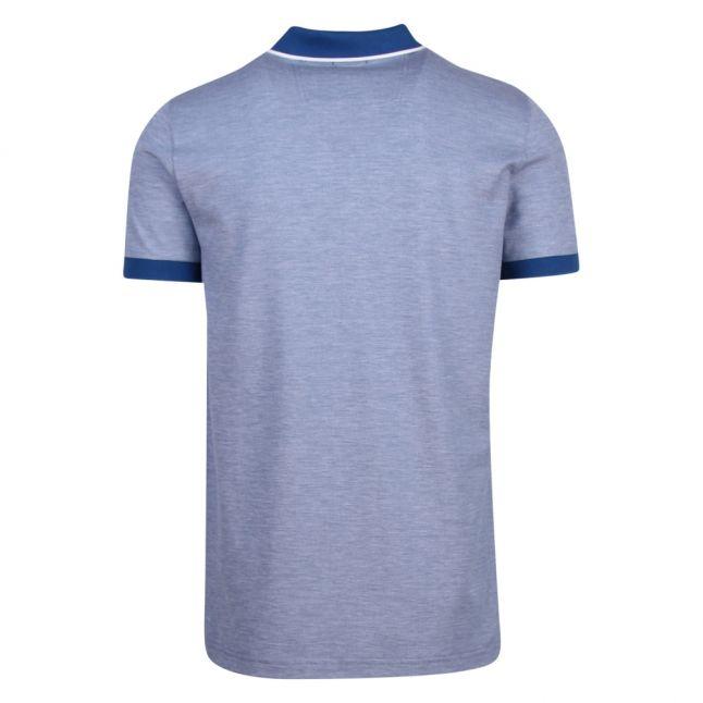 Athleisure Mens Blue Paule 4 Slim Fit S/s Polo Shirt