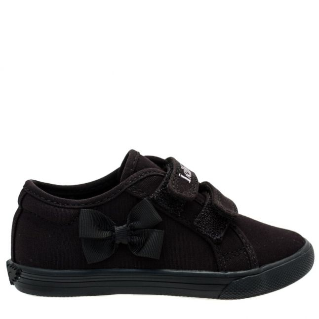 Girls Black Lily Pumps (24-35)