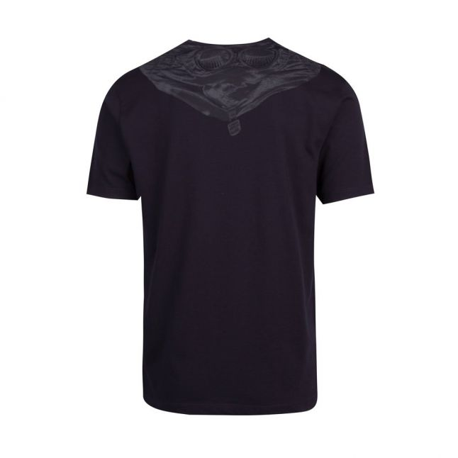 Mens Total Eclipse Goggle Back Print S/s T Shirt