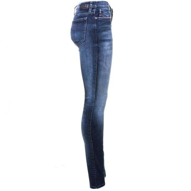 Womens Blue Wash Skinzee Super Skinny Fit Jeans