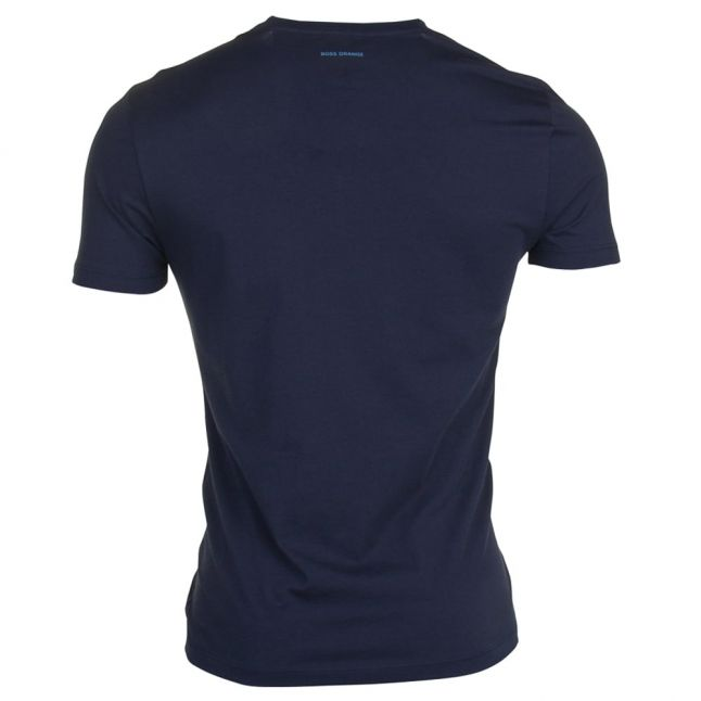 Mens Dark Blue Tacket S/s Tee Shirt