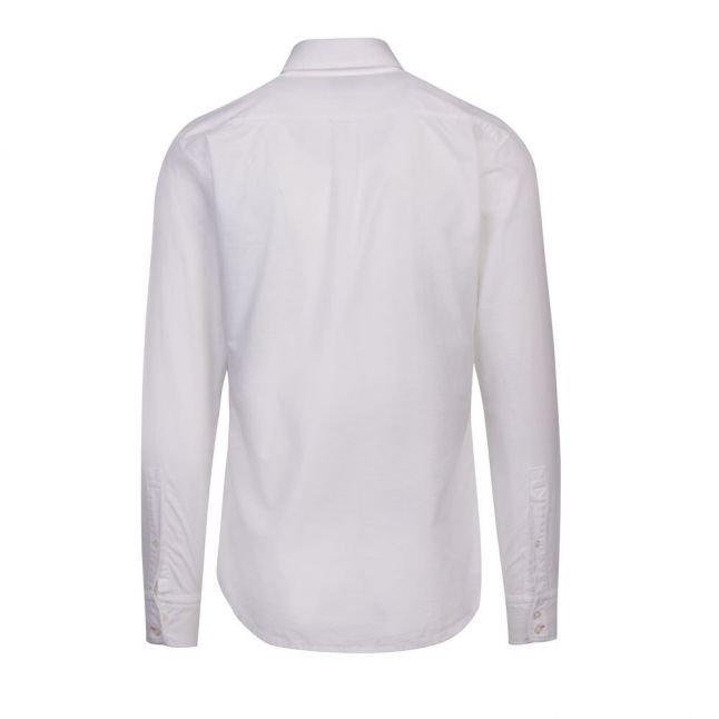 Casual Mens White Mabsoot_1 L/s Shirt