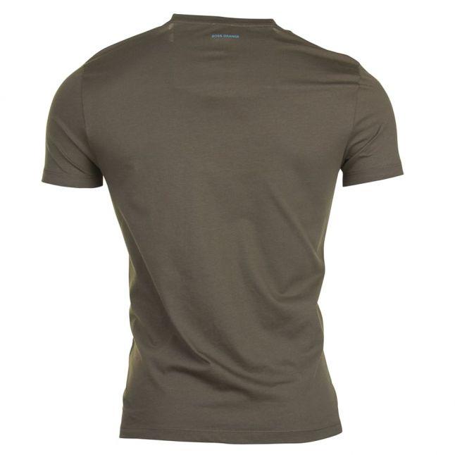 Mens Dark Green Tacket S/s Tee Shirt