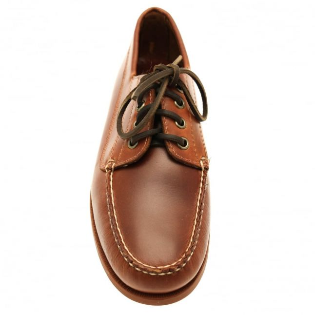 Mens Mid Brown Camp Moc Jackman Shoes