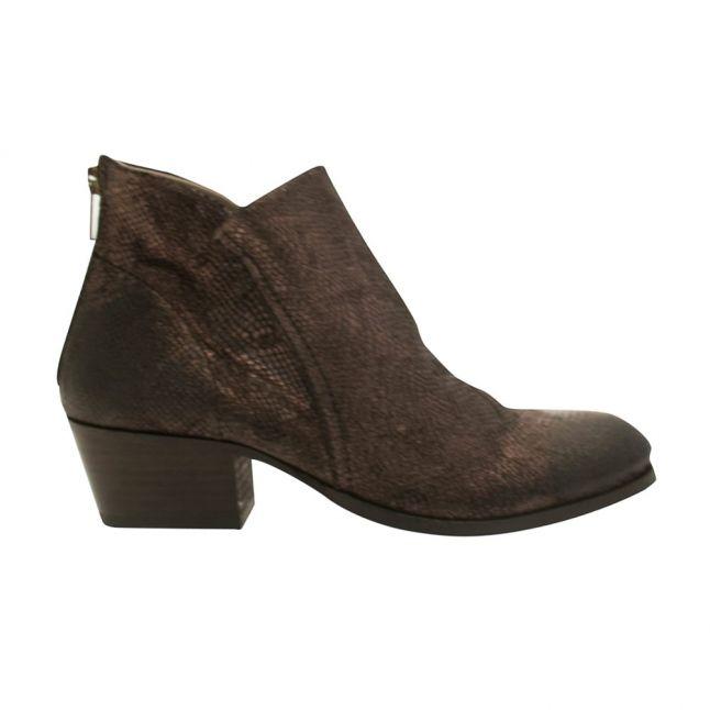 Womens Pewter Apisi Metallic Boots