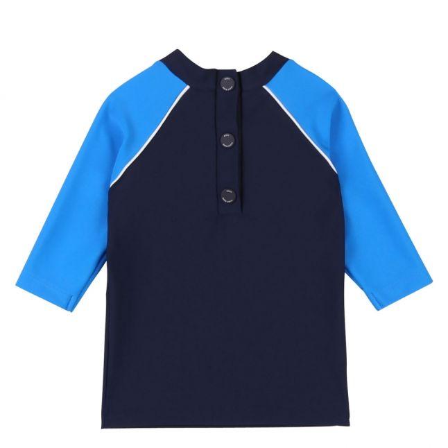 Toddler Navy Branded UV Beach Top
