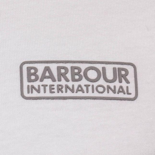 Mens White International Small Logo S/s T Shirt