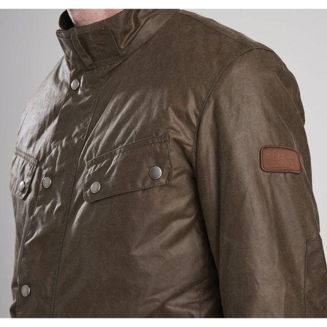 Mens Bark Duke Waxed Jacket