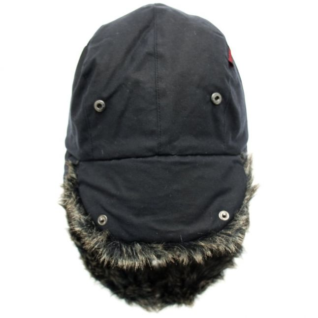 Lifestyle Mens Navy Waxed Grasmere Trapper Hat