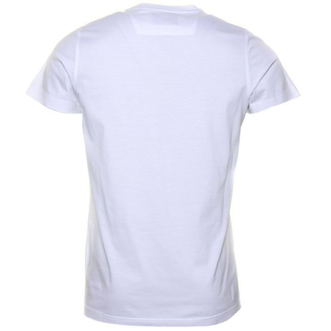 Mens White Louer S/s Tee Shirt