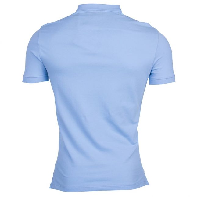 Mens Azzure Chest Logo Regular Fit S/s Polo Shirt