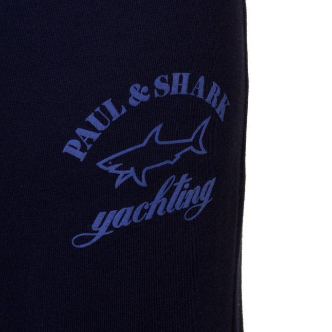 Paul & Shark Mens Navy Shark Fit Jog Pants