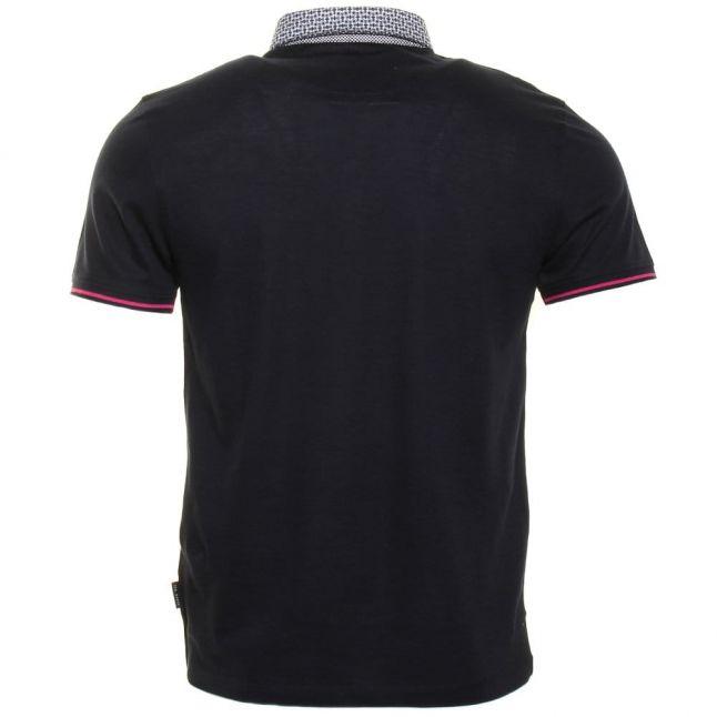 Mens Navy Beevar S/s Polo Shirt
