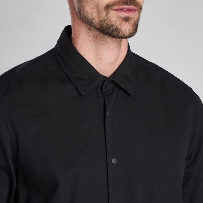 Mens Black Endo Overshirt
