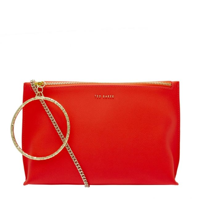 Womens Neon Orange Ingaah Bracelet Clutch Bag