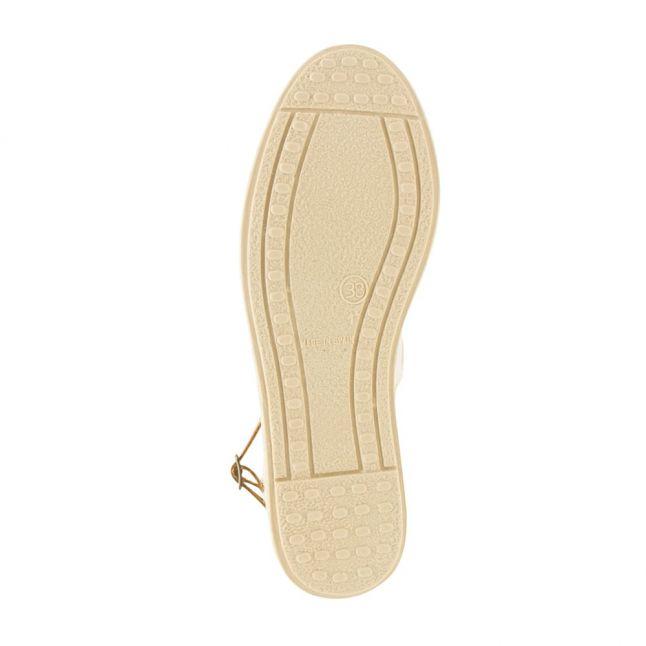 H By Hudson Womens Gold Biarritz Sandals