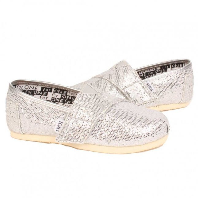 Tiny Silver Glitter Classic (1-10)