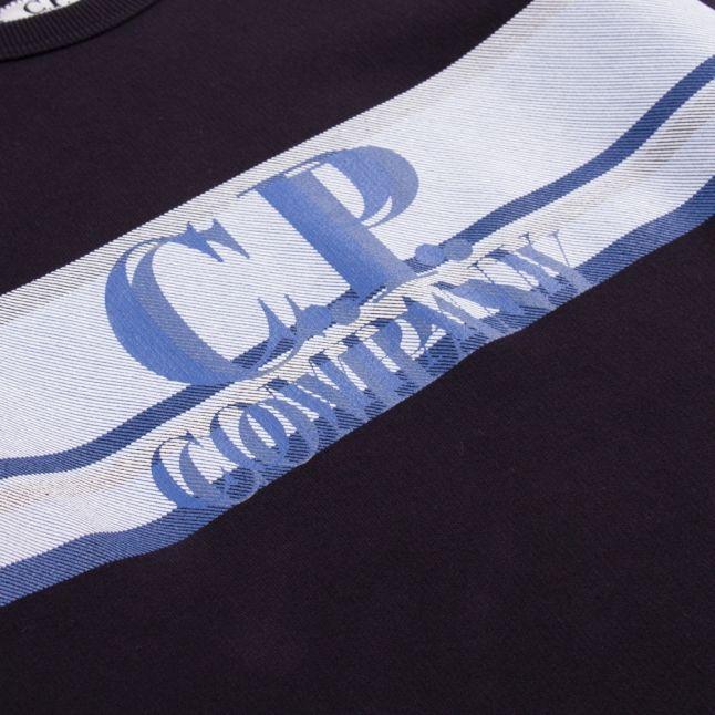Boys Total Eclipse Logo Stripe Sweat Top