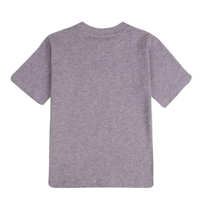 Boys Grey Shadow Logo S/s T Shirt
