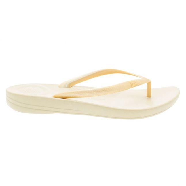 Fit Flop Womens Gold Iqushion Flip Flops