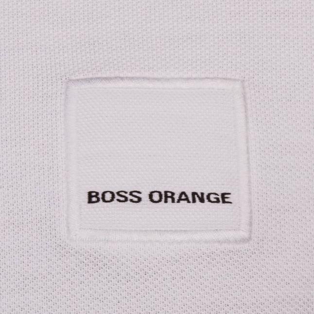 Mens White Pascha S/s Polo Shirt